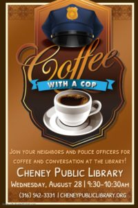 Coffee with a Cop @ Cheney Public Library