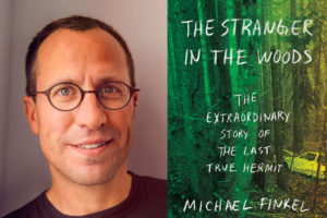 Book Club: The Stranger in the Woods by Michael Finkel @ Cheney Public Library